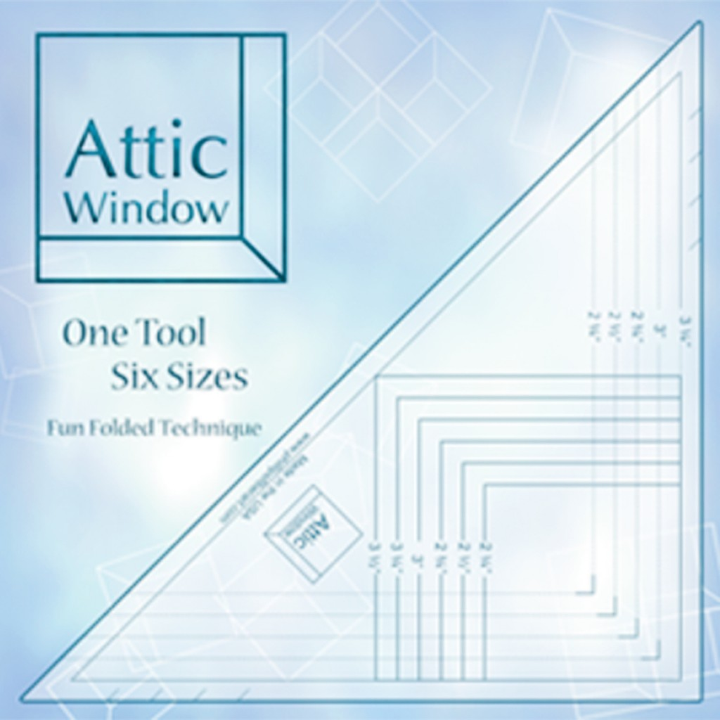 Attic Window Template Farm Fresh Fabrics