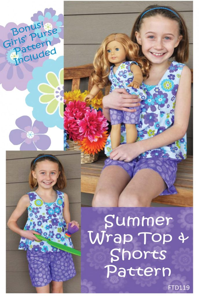 ftd119-summer-wrap-top-and-shorts